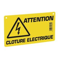 PLAQUE DE SIGNALISATION - CLOTURE ELECTRIQUE