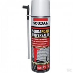 """MOUSSE POLYURETHANE EXPANSIVE """"SOUDAL"""" 500 ML"""