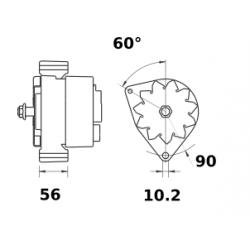 ENTONNOIR 155 MM AVEC RALLONGE