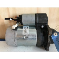 DEMARREUR 12V 2,7 KW IS0631 - MS49 MALHE ISKRA LETRIKA ( DECLASSE )