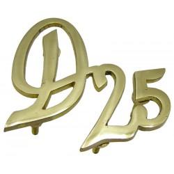EMBLEME DEUTZ D25