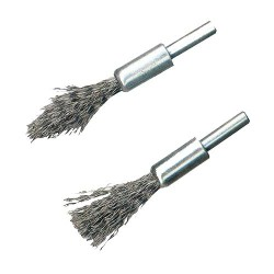 2 BROSSES PINCEAUX A DECALAMINER
