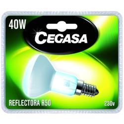 AMPOULE INCANDESCENTE REFLECTEUR 40W-E14/BL.