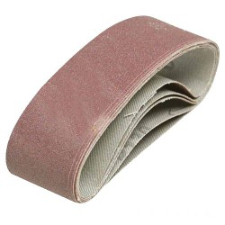 5 BANDES ABRASIVES 40X305MM