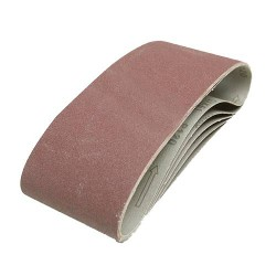 5 BANDES ABRASIVES 100X610MM