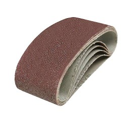 5 BANDES ABRASIVES 60X400MM