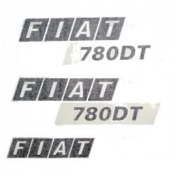 KIT AUTOCOLLANTS FIAT 780