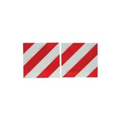 JEU DE PLAQUES DE SIGNALISATION BILATERALE AVEC SUPPORT ( 423 X 423 )