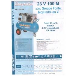 COMPRESSEUR LACME 23V 100M