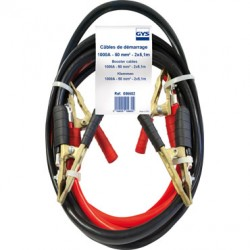 "CABLE DE DEMARRAGE ""GYS"" 50 MM² , 1000 A , 4.5 METRES"