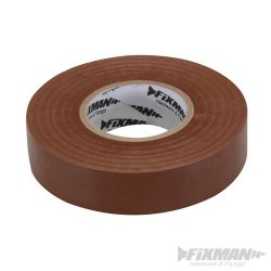 RUBAN ADHESIF ISOLANT 19 MM X 33 METRES MARRON