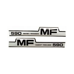 MASSEY FERGUSON 590 STICKER KIT
