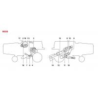 ✅ Courroies pour moissonneuses batteuses New Holland - Clayson 8040