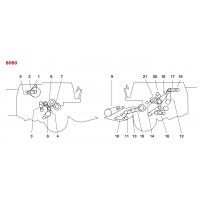 ✅ Courroies pour moissonneuses batteuses New Holland - Clayson 8080