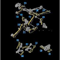 Courroie pompe hydrostatique, convoyeur, variateur, secoueur
